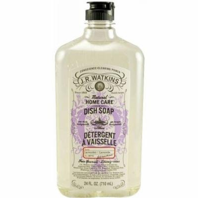 J.R. Watkins Liquid Dish Soap Detergent, Lavender, 24 FL OZ (Pack of 2)