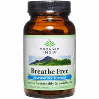 Organic India Breath Free Capsules, 90 CT