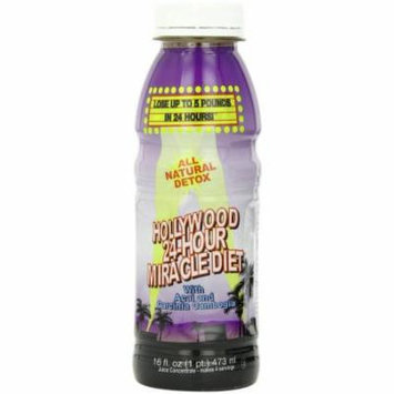 Hollywood Miracle Diet Hollywood 24-Hour Miracle Diet Drink with Acai and Garcinia Cambogia, 16 OZ