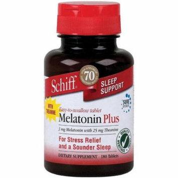 Schiff Melatonin Plus, 3mg, 180 CT