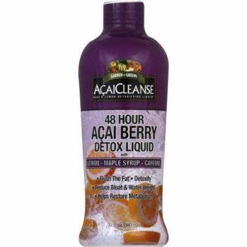 Garden Greens Detoxifying Liquid, AcaiCleanse, 32 FL OZ