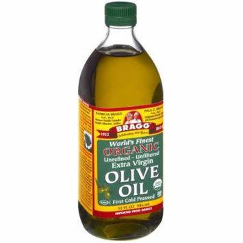 Bragg Olive Oil, Extra Virgin, 32 FL OZ (Pack of 12)