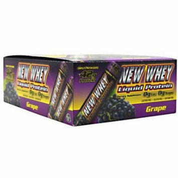 New Whey Liquid Protein, Grape, 12 CT