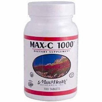 Maxi-Health Max-C 1000, Vitamin C, Kosher, 100 CT