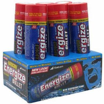 iSatori Hardcore Energize Bullet, Blue Raspberry Rage, 6 CT