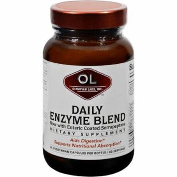 Olympian Labs Daily Enzyme Blend, 60 CT
