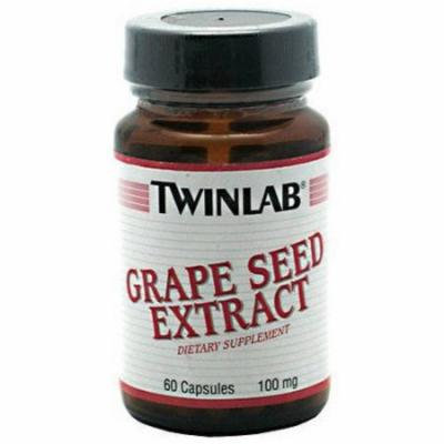 Twinlab Grape Seed Extract, 100 mg, 60 CT