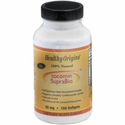 Healthy Origins Tocomin Supra Bio Tocotrienols Gels, 150 CT
