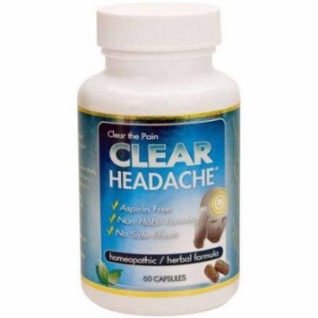 Clear Headache, Capsules, 60 CT