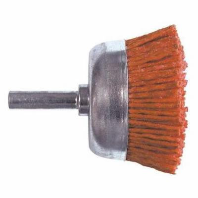 CENTURY DRILL AND TOOL 77231 Cup Brush,Coarse Nylon,80 Grit,3 in. G4092509