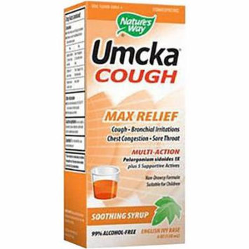 Nature's Way Branded Phytomedicines Umcka Cough Max Relief Syrup, 4 OZ