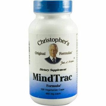 Christopher's Original Formulas Mindtrac Caplets, 100 CT