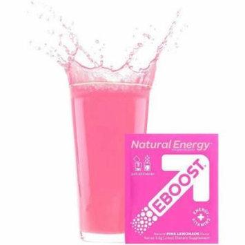 Eboost Natural Powder - Pink Lemonade , .24 OZ (Pack of 20)