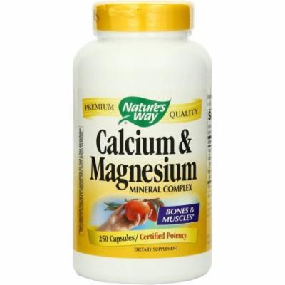 Nature's Way Calcium Calcium Magnesium, 250 CT