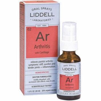 Liddell Laboratories Homeopathic Arthritis Spray, 1 OZ