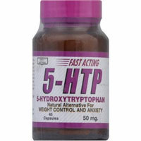 Only Natural 5 Hydroxytryptophan Vegetarian Capsules, 45 CT