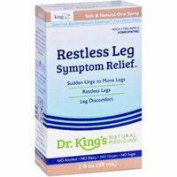 King Bio Restless Leg Symptom Relief, 2 OZ
