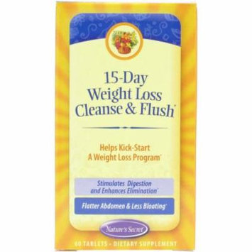 Nature's Secret 15 Days Weight Loss Tablets, 60 CT