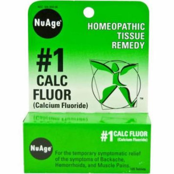 Hylands Calcium Fluoride Tablets, 125 CT (Pack of 2)