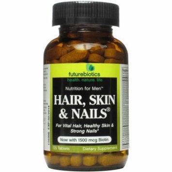 Futurebiotics Hair Skin & Nails for Men Tablets, 135 CT