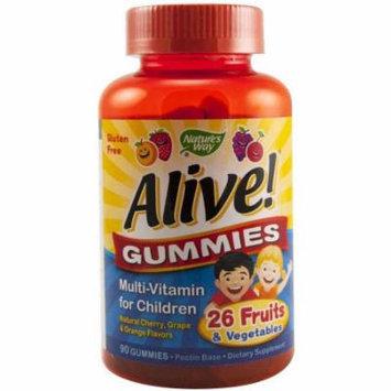 Nature's Way Alive Children Multi Vitamin Gummies, 90 CT