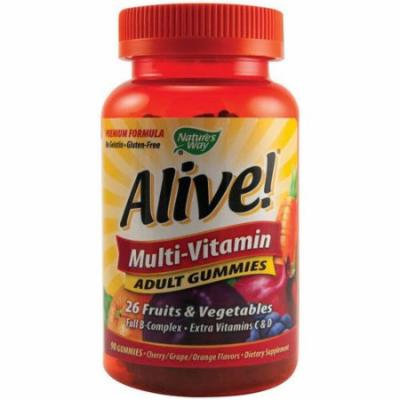 Nature's Way Alive Adult Multi-Vitamin Gummies, 90 CT