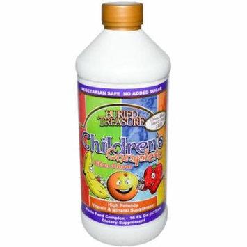 Buried Treasure Children's Complete Multivitamin Liquid Supplement, 16 FL OZ