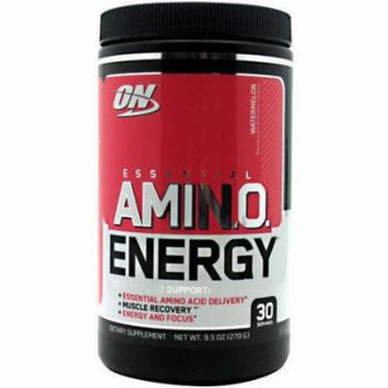 Optimum Nutrition Amino Energy, Watermelon, 30 CT