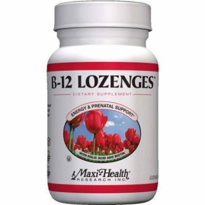 Maxi-Health Vitamin B-12 Lozenges with Folic Acide & Biotin, Kosher, 180 CT