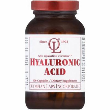 Olympian Labs Hyaluronic Acid Capsules, 100 CT