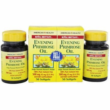 American Health Evening Primrose Oil, 100 CT