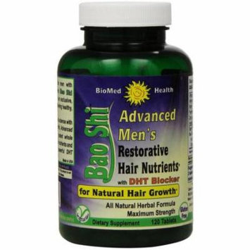 Biomed Health Advanced Bao Shi Men's Hair Supplement Tablets, 120 CT