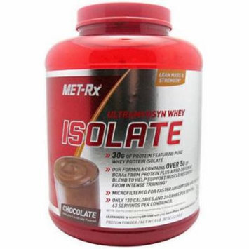 Met-Rx Ultramyosyn Whey Isolate, Chocolate, 5 LB