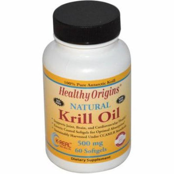 Healthy Origins Krill Oil Gels, 60 CT