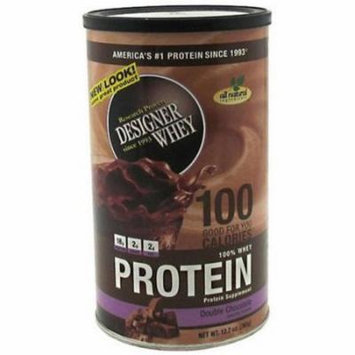 Designer Whey Protein Powder, Double Chocolate, 12 OZ