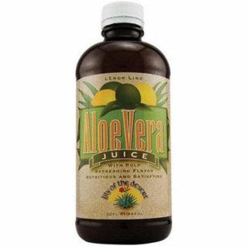 Lily Of The Desert Aloe Vera Juice Lemon Lime, 32 FL OZ