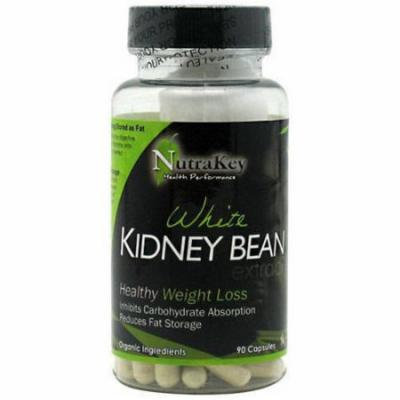 Nutrakey White Kidney Bean Extract Capsules, 90 CT