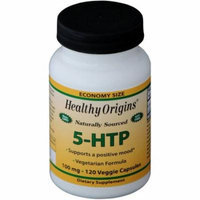 Healthy Origins 5-HTP, Naturally Sourced, 100mg, 120 CT