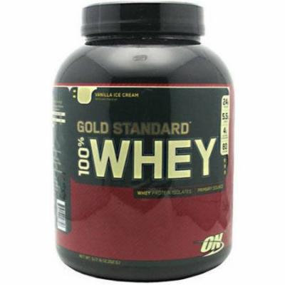 Optimum Nutrition 100% Whey, Vanilla Ice Cream, 5 LB