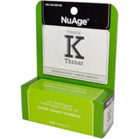 Hylands Tissue K Throat, 125 CT (Pack of 2)