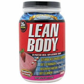 Labrada Nutrition Lean Body, Strawberry Ice Cream, 2.47 LB