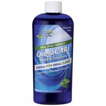 North American Herb & Spice Oregacare Swirl and Swallow Oral Cleanser, 8 OZ
