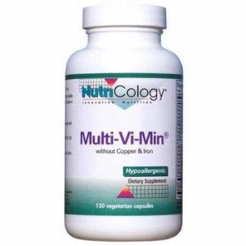 Nutricology Multi-Vi-Min, No Copper or Iron, 150 CT