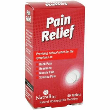 Natra Bio Pain Relief Tablets, 60 CT