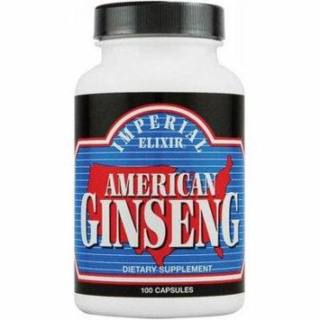 Imperial Elixir American Ginseng, 100 CT