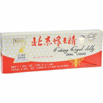 Superior Trading Peking Royal Jelly, 10 CT