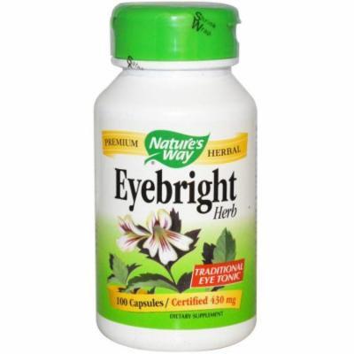 Nature's Way Eyebright Herb, 430 mg, Capsules, 100 CT