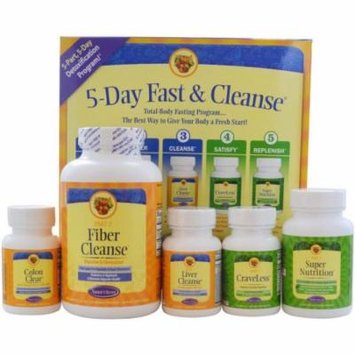 Nature's Secret Fast and Cleanse Kit, 5 CT