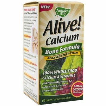 Nature's Way Alive Calcium Bone Formula, 60 CT