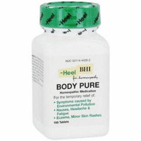 Heel Body Pure Tablets, 100 CT